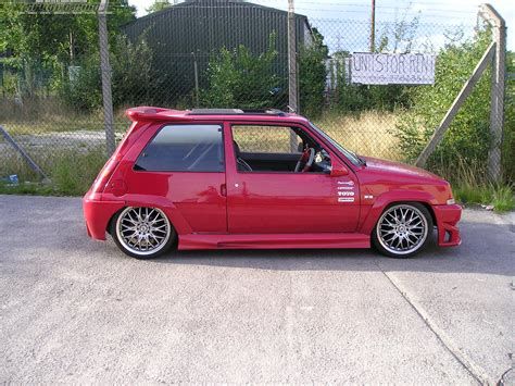 renault 5 tuning view of renault 5 photos video features and tuning of