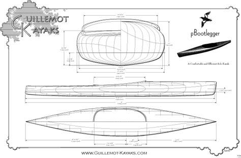 pluut platbodem solo microbootlegger guillemot kayaks small wooden