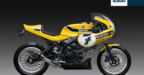 Suzuki Rr Racing Caf 232 Design Corner Suzuki Sv 650 Rr Yellow