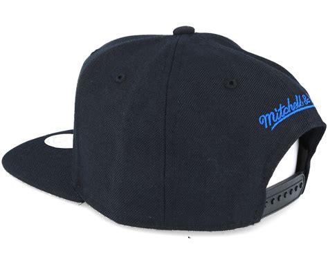 Topi Snapback Vans Bk Banaboo nets wool solid black snapback mitchell ness caps hatstore co uk