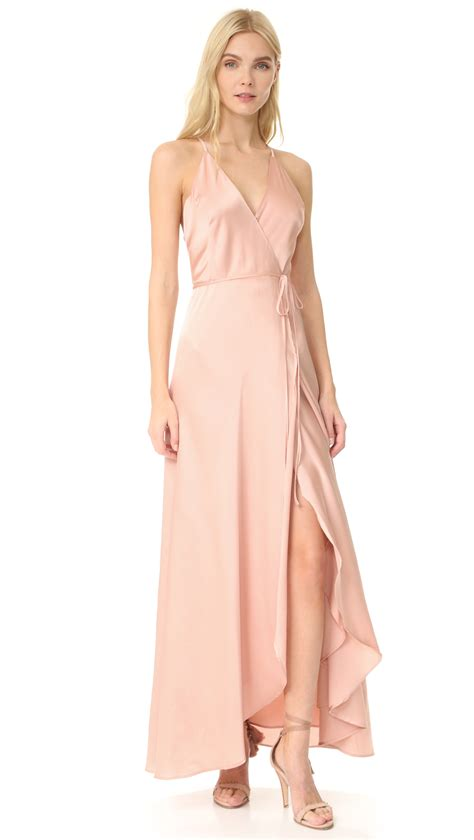 Sale Alert Dress To Impress In This Cynthia Steffe Soft Hem Frock Second City Style Fashion by Shop Yumi Hour Maxi Dress In Blush At Modalist