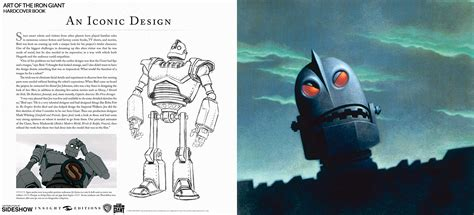 the iron giant the iron giant the art of the iron giant book by insight