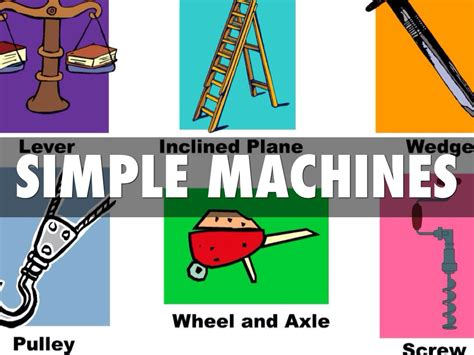 Simple Machines simple machines by thurmond