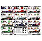 2013 Formula One Spotter Guide