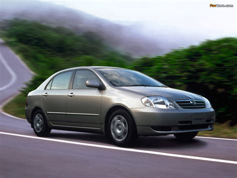 02 Toyota Corolla Toyota Corolla Sedan Jp Spec 2000 02 Images 1024x768