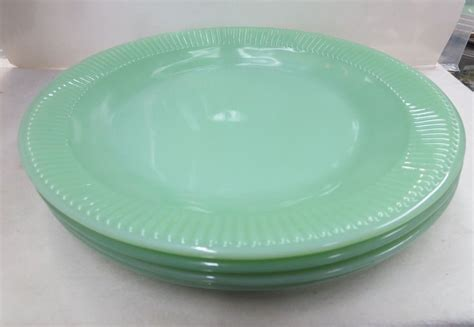 Ip29915 Set Vintage Mint Ry king jadite jadeite dinner plate set of 4