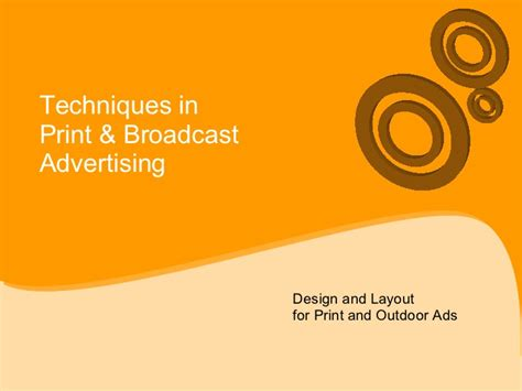 layout design in advertising print and outdoor design ad layout