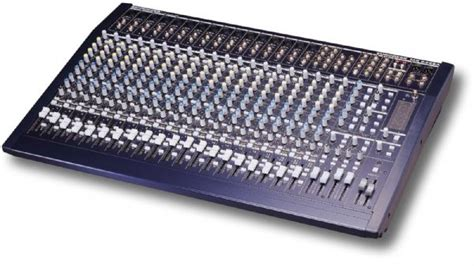 Mixer Behringer Mx 2442a behringer mx2442a eurodesk 24 channel 4 mixing console