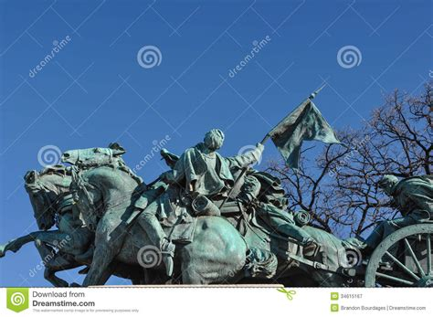Stock Image Of Civil War Statue In Washington Dc K8925735 Search Stock Photos Mural Civil War Statue Royalty Free Stock Photography Image 34615167
