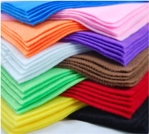 fabric crafts felt a4 felt fabric sheets for arts and crafts many colours