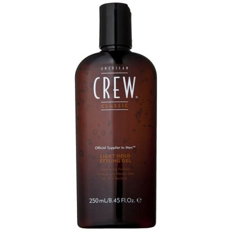 light hold styling gel crew light hold styling gel 8 45 oz target