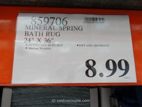miracle rug costco mineral bath rug