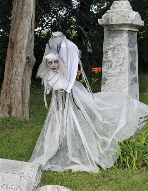 diy animated yard decorations diy do it your self animated witch prop decoration haunted house 60 quot scary volatile violet ebay