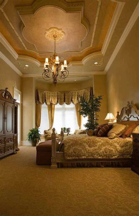 Master Bedroom With High Ceiling Crown Molding Zillow Digs Ceiling Design For Master Bedroom