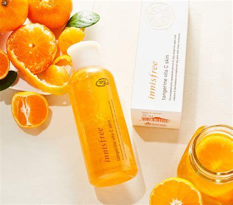 Innisfree Tangerine Vita C Serum n豌盻嫩 hoa h盻渡g innisfree tangerine vita c skin jeju cosmetics
