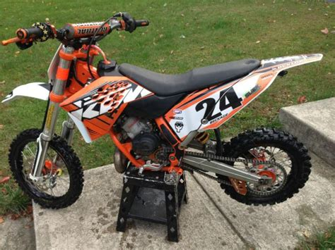 Ktm Bicycle For Sale 2009 Ktm 65sx Dirt Bike For Sale On 2040 Motos