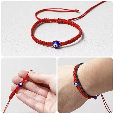 Meaning Of Macrame - kabbalah bracelet macrame bracelet evil eye bracelet