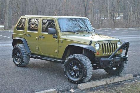 Jeep Wrangler Slanted Hardtop Sell Used 2008 Jeep Wrangler Fastback 4 Door No Reserve In
