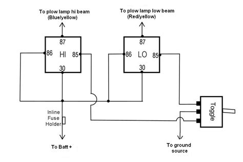 12v relay wiring diagram 6 pin wiring diagram