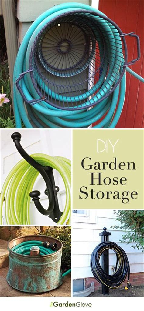 Garden Hose Storage Ideas Gardens Tutorials And Storage On Pinterest