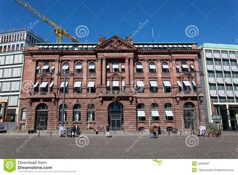deutsche bank bremen deutsche bank building in bremen editorial photo image