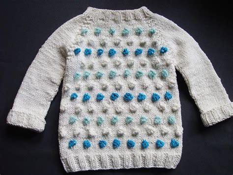 knit seamless sweater pattern seamless bobble stitch baby sweater allfreeknitting com