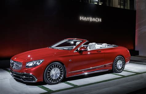 maybach jeep 2017 mercedes maybach s650 cabriolet debuts at 2016 la auto show