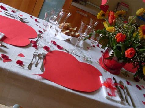 tavola apparecchiata romantica area pubblica la tavola ideale x san valentino