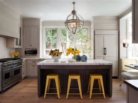 Yellow And Grey Kitchen by Decorating Yellow Grey Kitchens Ideas Inspiration