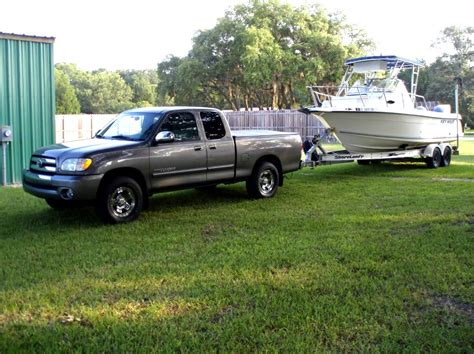 Toyota Tundra Towing Toyota Tundra Towing The Hull Boating And