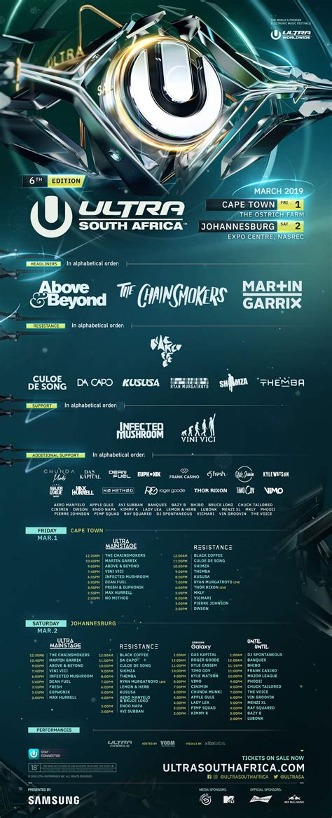 ultra south africa lineup 2019 mr cape town previous lineups ultra south africa