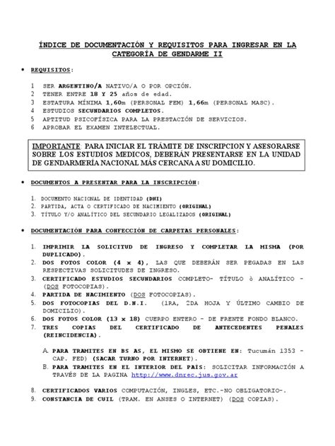 requisitos para verificar edomex 2016 requisitos para entrar gendarmeria 2016