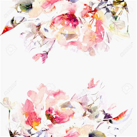 watercolour floral backgrounds search craft watercolor