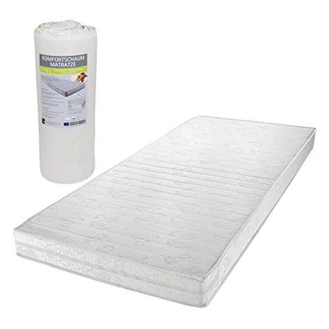 matratzen testberichte rollmatratze wendematratze komfortschaum in 90 x 190 cm