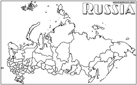 coloring page map of russia russia coloring pages coloring pages to download and print