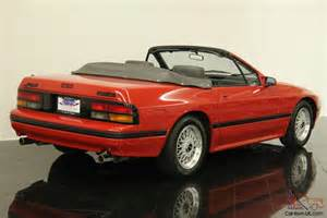 1988 mazda rx 7 convertible one owner 24961