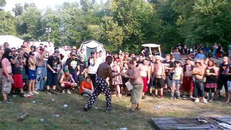 backyard wrestling icp backyard quot wrestling quot at the gathering of the juggalos 2010
