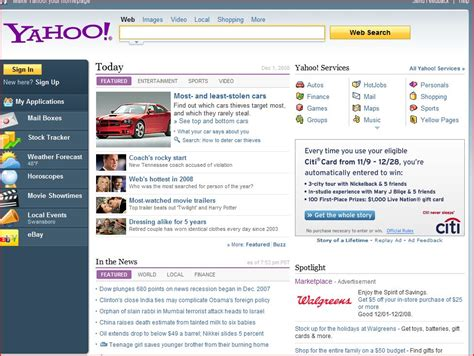 make yahoo my homepage how to change yahoo home page