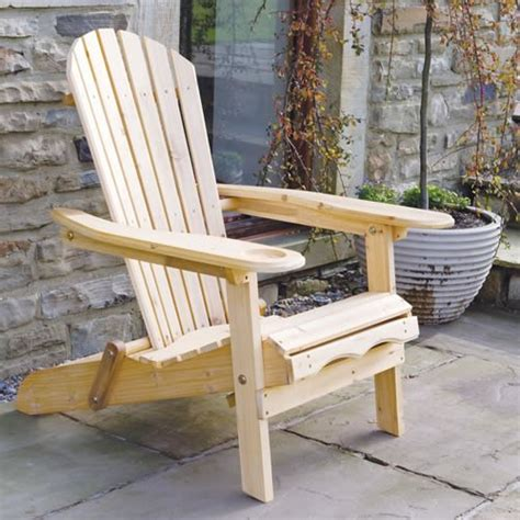 wooden garden recliner chairs garden furniture patio newby wooden adirondack arm chair