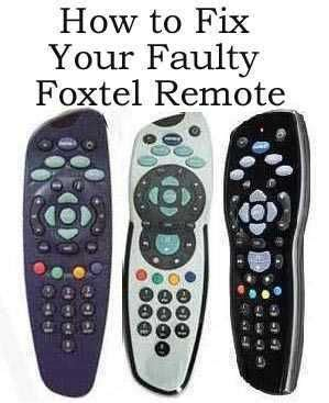 austar about foxtel foxtel foxtel austar remote not working fix it now
