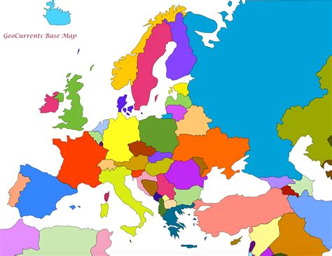 map of eurpore customizable maps of europe asia etc geocurrents