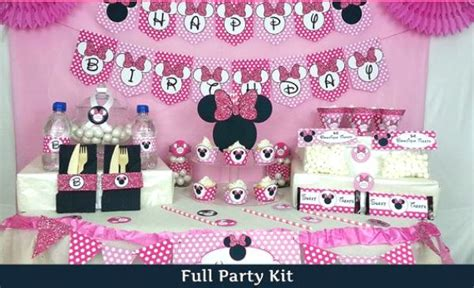 Minnie Mouse St Birthday Decorations by Minnie Mouse Birthday Ideas Pink Lover