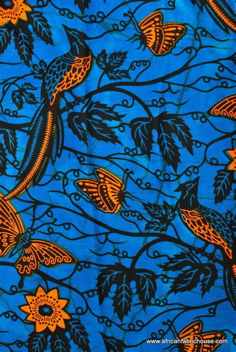 quail pattern fabric birds on blue african print fabric global inspiration