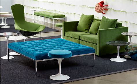 florence knoll relaxed large square bench hivemoderncom