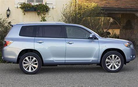 Fuel Consumption Toyota Kluger Fuel Economy Of The 2011 Toyota Highlander Hybrid 4wd