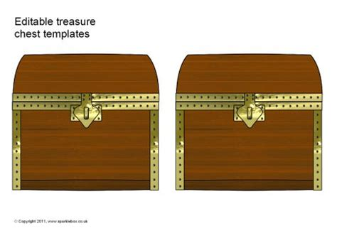 treasure chest template editable treasure chest templates sb4946 sparklebox