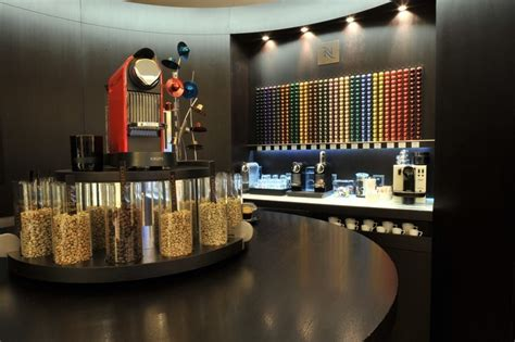 Architects Home Design nespresso boutique in athens