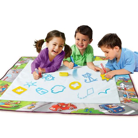 how to use aquadoodle spin master aqua doodle jumbo deluxe mat
