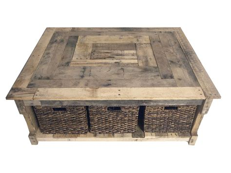 Rustic Pallet Coffee Table Furniture Coffee Tables