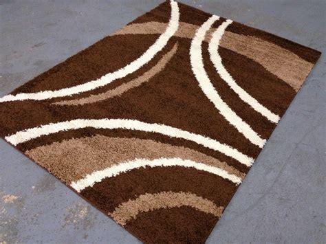 modern brown rug brown 6x9 modern swirls shaggy room size rug beige ivory ribbons swirls 6 6x9 4 139 00 picclick